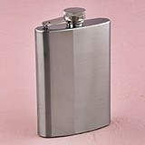 Weddingstar Personalizable Two-Tone Stainless Steel Flask