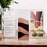 Weddingstar Contemporary Monogrammed Sand Ceremony Shadow Box