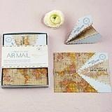 Weddingstar Paper Airplane Well Wishing Stationery (Set of 25)