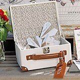 Weddingstar Vintage-Inspired Miniature Suitcase Wishing Well