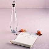 Message In A Bottle Guest Book Alternative with Signature Scrolls