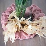 Weddingstar Small Vintage Pink Ruffled Burlap Wreath