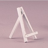 Weddingstar Small White Wooden Easels (Set of 6)