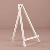 Weddingstar Large White Wooden Mini Easel