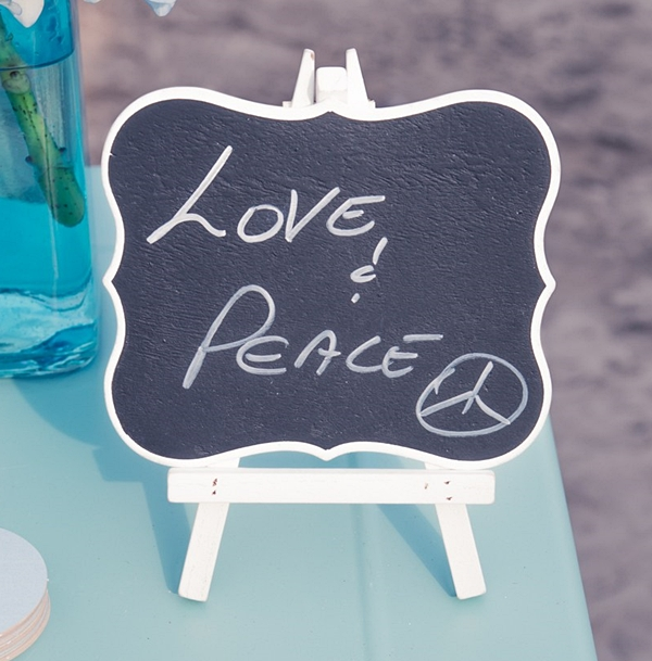 Weddingstar Medium Decorative Chalkboards with White Frames (Set of 4)