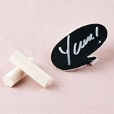 Weddingstar Speech Bubble Chalkboard Clips (Set of 12)