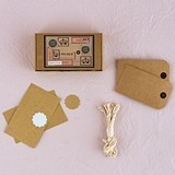 Weddingstar Vintage Shipping Tag DIY Kit
