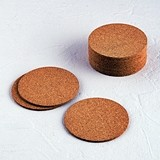 Weddingstar Shabby Chic Blank Round Cork Coasters (Package of 25)