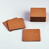 Weddingstar Shabby Chic Blank Square Cork Coasters (Package of 25)