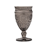 Weddingstar Vintage-Inspired Pressed Glass Goblet (3 Colors)