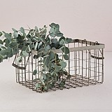 Weddingstar Decorative Rectangular Wire Basket