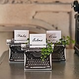 Weddingstar Vintage-Inspired Typewriter Favor Box Kit (Package of 10)