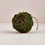 Weddingstar Small Wicker and Faux Moss Pomander