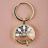 Gold-Colored Dreamcatcher-Inspired Key Rings (Package of 6)