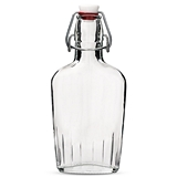 Weddingstar Vintage-Inspired Swingtop Glass Flask
