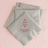 Once Upon a Dream Design Foil-Printed Napkins (3 Sizes) (25 Colors)