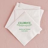 Woodland Pretty Celebrate Foil-Printed Napkins (3 Sizes) (25 Colors)