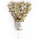 Weddingstar All that Glitters Metallic Gold & Silver Push-Pop Confetti