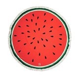 Weddingstar Personalizable Watermelon Round Beach Towel
