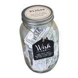 Weddingstar Wedding Wishes Mason Jar Guest Book Alternative
