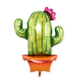 Weddingstar Mylar Foil Helium Party Balloon Decoration - Cactus