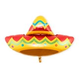 Weddingstar Mylar Foil Helium Party Balloon - Fiesta Sombrero