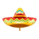 Weddingstar Mylar Foil Helium Party Balloon - Fiesta Sombrero