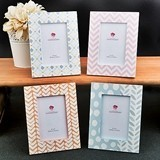 FashionCraft Delicate Pastel-Shaded Frames (Set of 4 Assorted)