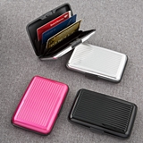RFID-Blocking Aluminum Wallets in Assorted Solid Colors (Set of 18)