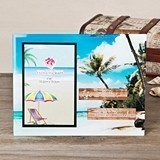 FashionCraft Colorful 'Life is Better at the Beach' Design Glass Frame