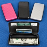 RFID-Blocking Large Aluminum Wallets in Assorted Colors (Set of 12)