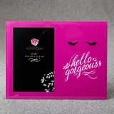"FashionCraft ""Hello Gorgeous"" Hot Pink Glass 4x6 Frame"
