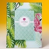 FashionCraft Pink Flamingoes and Palm Leaves Tropical-Themed 4x6 Frame