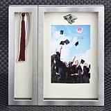 FashionCraft Graduation Shadow Box Picture Frame plus Tassel Holder