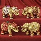 Magnificent Miniature Decorative Elephants (Assorted Set of 4)