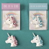 FashionCraft Unicorn Magnets in Pink and Blue Assorted Set of 12