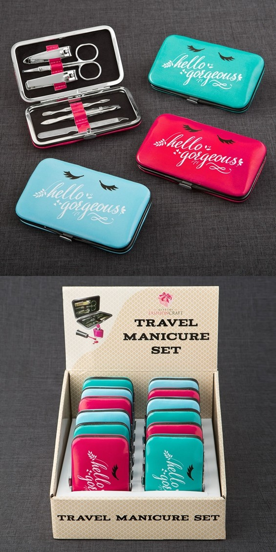FashionCraft Fabulous 'Hello Gorgeous' Manicure Sets (Package of 12)