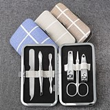 FashionCraft Plaid Design Manicure Set (3 Assorted Designs; Set of 12)
