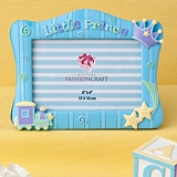 FashionCraft Blue 'Little Prince' Frame with 3-Dimensional Motif