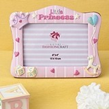 FashionCraft Pink 'Little Princess' Frame with 3-Dimensional Motif