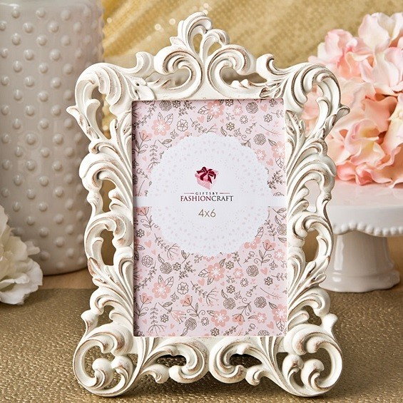 Gold Wash Vintage-Inspired Baroque Design Frame/Table Number Holder