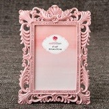 FashionCraft Pink Quartz Baroque Design Frame/Table Number Holder