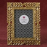 FashionCraft Magnificent Gold Finish Lattice Work Design 4x6 Frame