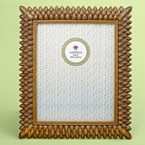 FashionCraft Brushed Gold Leaf Design 8 x 10 Frame