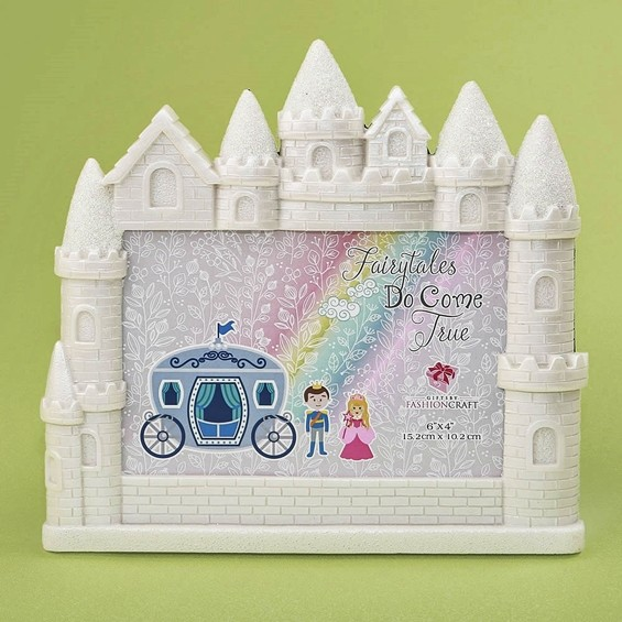 FashionCraft Fairytale Castle 4 x 6 Frame/Table Number Holder