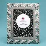FashionCraft Exquisite Antique Silver Leaf Design 5 x 7 Frame