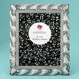 FashionCraft Stunning Antique Silver Leaf Design 8 x 10 Frame