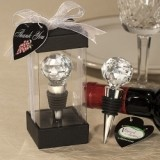 FashionCraft Crystal Ball Design Wine Stopper