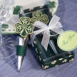 FashionCraft Shamrock/Trinity Love Knot Bottle Stopper