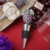 FashionCraft Brilliant Grape-Cluster-Shaped Bottle Stopper